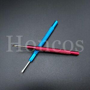 2 X Red Blue Set Steel Watch Repair Spring Bar Tool Remover Pin Strap Bracelet