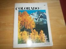 Vintage COLORADO Summer Fall Winter Spring 1973 Softcover Old Library