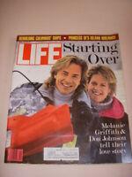 LIFE MAGAZINE, APRIL 1989, MELANIE GRIFFITH, DON JOHNSON COVER, COLUMBUS' SHIPS!
