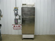True T-19 Stainless Steel One Door 1 Dr Reach In Commercial Refrigerator Cooler