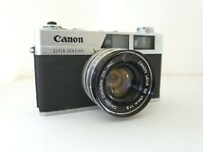 Canon Canonet QL19 rangefinder camera with F1.9 45mm SE lens