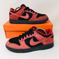 separation shoes 122df ecbcc Nike Dunk Low CL Vintage (Men Size 9) Red Black Low Top Rare Sneaker