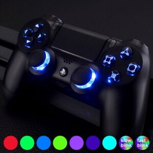 PS4 Controller Full LED Modding Kit / 9x Colours Touch Control/Easy 2/Install
