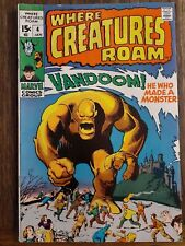 WHERE CREATURES ROAM 4 MARVEL BRONZE HORROR COMBINE SHIPPING- CREATE YOUR LOT A2