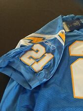 LaDainian Tomlinson Authentic Chargers Jersey sz 56 New with tags HOF light blue