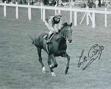 Lester PIGGOTT Signed Autograph Photo AFTAL COA Jockey Horse Racing NIJINSKY