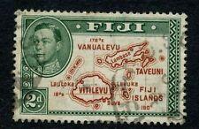 Used George VI (1936-1952) Fijian Stamps