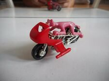 Geoffrey 1979 Pink Panter on Motorbike in Pink/Red