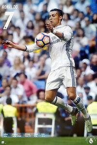 275130 Cristiano Ronaldo Real Madrid Super Star Soccer Player PRINT POSTER US