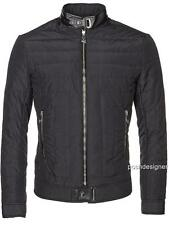 VERSACE Collection Black Padded Jacket Coat IT58 XXL, RRP895GBP