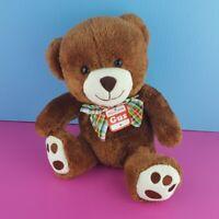 """Go! Games Gus BowTie Teddy Bear Plush Stuffed Animal 10"""" NWT"""