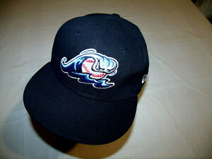 West Michigan Whitecaps MiLB Blue Hat New Era 59Fifty Fitted 7 1/4 Great Logo