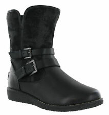 Zip Wedge Casual Solid Boots for Women