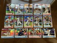 (14) 2019 Topps Chrome Refractor 14 Card Lot. Yelich, Rookie, Rookies RC More!