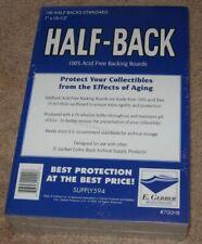 500 E Gerber Half Back Premium Archival Silver /Bronze Age STANDARD Comic Boards