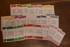 Go board game replacement spare cards y16