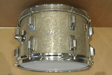 "1960's Rogers 12"" HOLIDAY TOM in SILVER SPARKLE for YOUR DRUM SET! LOT #Z843"
