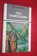 LES TEMPLIERS par GEORGES BOURDENOVE   éd  FAYARD 1963   DEDICACE