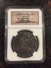 1783 MO FF Mexico 8R EL Cazador Genuine Silver Coin