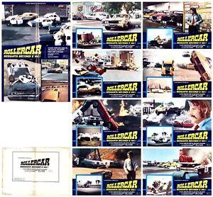 ROLLERCAR SESSANTA SECONDI E VAI FOTOBUSTE 8+SOGG. 1974 CADILLAC 70S LOBBY CARD