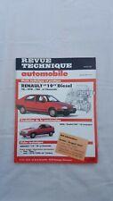Revue technique automobile Renault 19 JANVIER 1990 N°511