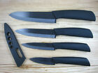 Black Blade Sharp Ceramic Knife Set Chef's Kitchen Knives 3