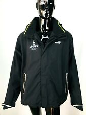 PUMA America's Cup World Series Sailing Hooded Black Jacket Men's size XXL