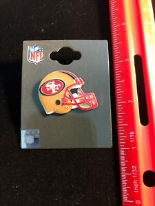 NEW San Francisco 49ers Helmet Pin - Butterfly Pin Back  NFL Licensed 2020 Issue