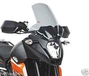 KTM 990 SMT SCREEN GIVI D750S WINDSCREEN TOURING 17CM HIGHER WINDSHIELD