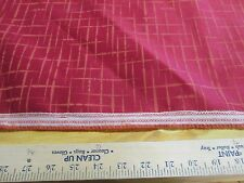 """1 YD X 54"""" OF LUNA TEXTILES UPHOLSTERY FABRIC """"HATCH TOO"""" COLOR MACINTOSH"""