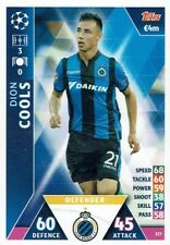 Topps Match Attax Champions League Card No. 327 Dion Cools Club Brugge