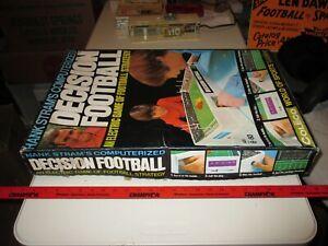 Original Hank Stram's Computerized Decision Football Game, KC Chief's, NFL, 1972