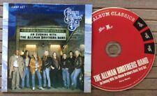THE ALLMAN BROTHERS BAND / AN EVENIG WITH (FIRST SET) - CD (EU 2009) NEAR MINT