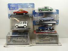 KAS2 LOT de 7 voitures USA/UK 1/43 collection cassés broken models rotos