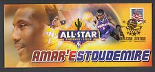2009 NBA All Star Game, Amar'e Stoudemire of the Phoenix Suns cover. MVP.