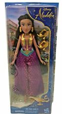 Disney Aladdin Princess Jasmine 11 Inch Doll Outfit Earrings Gold Shoes