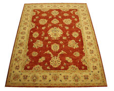 Real Rug Brick Manufacture 206x155 CM 100% Wool Hand Knotted Terra Beige