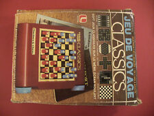 Vtg. Lakeside Travel Game Classics 7 Games In 1 Backgammon Checkers Chess