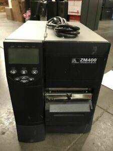 ZEBRA ZM400 ZM400-3001-0100T Thermal Barcode Label Printer GUARANTEED