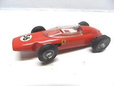 FR 2 ) FERRARI F1 rouge n°56 moteur palier laiton circuit routier JOUEF