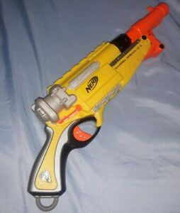 NERF N-Strike BARREL BREAK IX-2 Shotgun BLASTER Yellow Orange