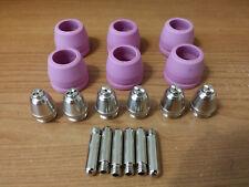 Lotos Plasma Cutter Torch Consumables Ltp5000d Ltp6000 Ltpdc2000d 18pcs Set