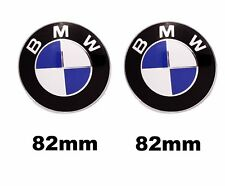 BMW 82 mm 82mm Motorhaube Heckklappe Frontklappe Badge Wappen Emblem Logo M