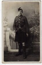 MILITARY, SCOTTISH SOLDIER, CAMERON HIGHLANDERS?, RP