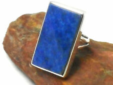 LAPIS  LAZULI    Sterling  Silver  925  Gemstone RING  - Size: M  -  Gift Boxed!