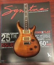PRS Paul Reed Smith Guitars Catalog - 2010 25th Anniversary Guitars Amps NEW