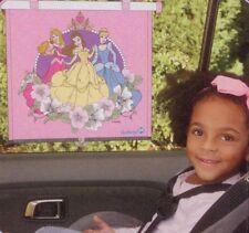 Disney princess children car window sun roller shade - 2 pack