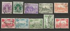 Birmanie années 40/50 19 timbres oblitérés /T5573