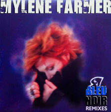 "12"" Maxi 45t Mylène FARMER Bleu noir REMIXES LTD ED   new sealed NEUF"