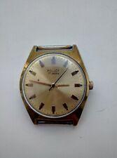 POLJOT Old Soviet Vintage Wrist Dress Mechanical Watch Gold Plated USSR AU10